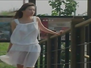 Qian - pretty Taiwanese in white dress