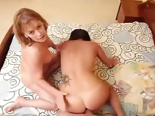 Two Mommys share a Toyboy Pov