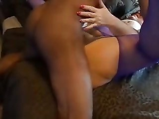 Cheating White Whore Wife being finished off