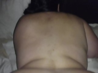 Wife's wet pussy from the back