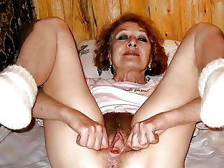 Granny Pussy Wants Cock
