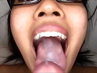 Asian Wife Fuck and Cum From Stranger