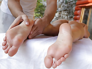 Blanche Bradburry foot play