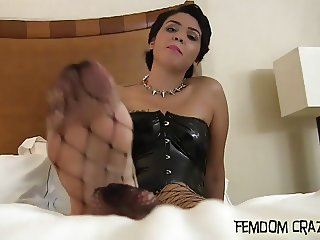 I will let you worship my spectacular feet