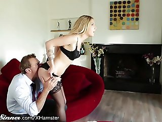 SweetSinner Karla Kush has a Taste for Older Men