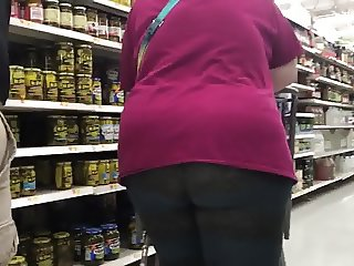 Fat ass mature bbw n leggings