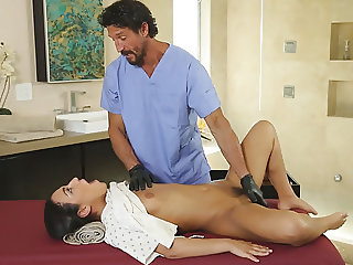 Doctor visits the spa!
