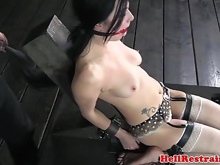 Whipped submissive in tt treatment