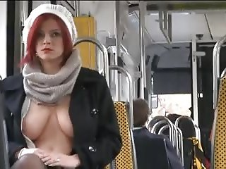 Wow. On bus.