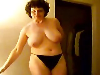 Mature mom with big boobs.