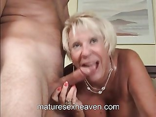 Mature Blond Bombshell