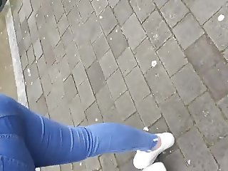 Thick booty jeans