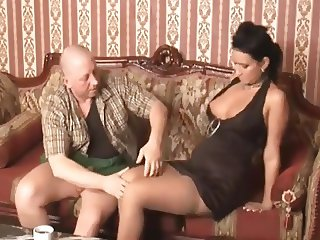 young lady fucked by old peasant