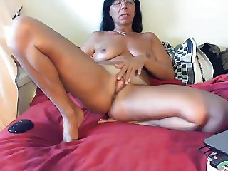 mother caugt videochat