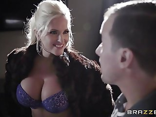 Brazzers - Alena Croft gets oiled up and pounded