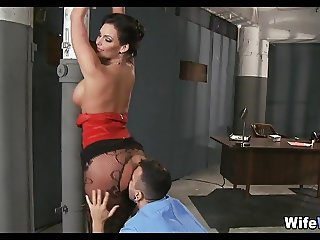 Cop Fucks Wife with Big Tits