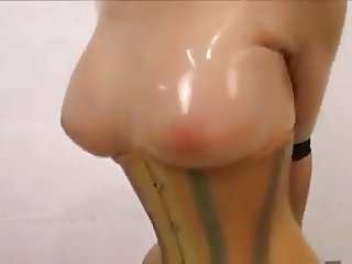 Latex Doll - Sybian ride