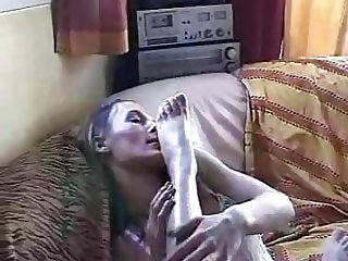 Sexy french girls workship their feet