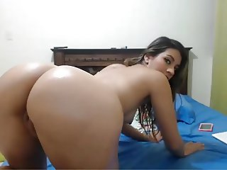 Jo's Latina Ass - Archived Cam Footage of Me