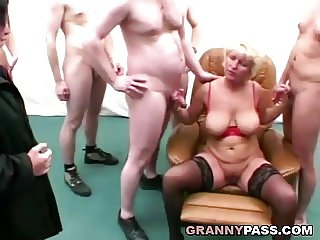 Group Sex And Anal With Granny And Her Friend