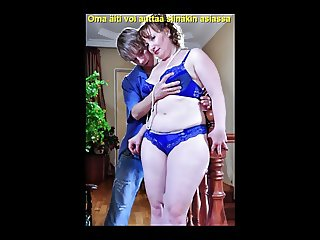 Slideshow with Finnish Captions: Mom Flo 1