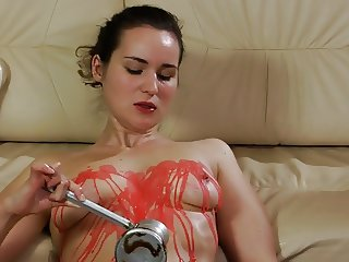Self punishment, whipping, waxing.