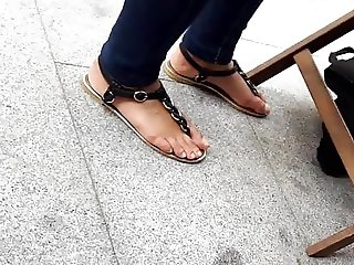 mature friends natural feets, sandals and toes