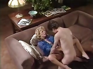 Hot Vintage Scene With Karen Summer and Tom Byron
