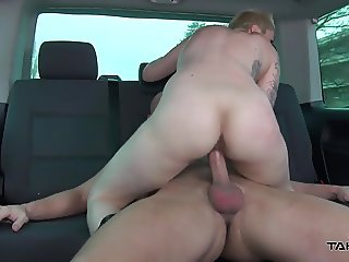 Takevan - Busty blonde found naked on the street and fucked