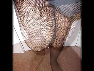 Shiney tights and fishnets