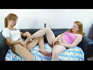 STP5 Ginger Cums Enough For Them Both !