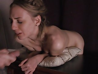 Cute Girl Gets Throated And Fucked From Behind