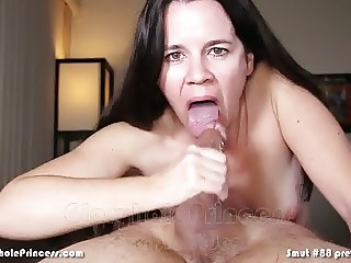 Wife continues collecting cum from other men