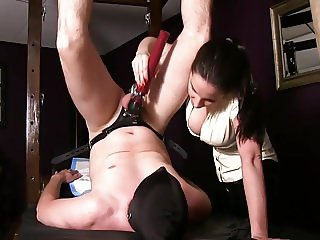 Legs over head bdsm