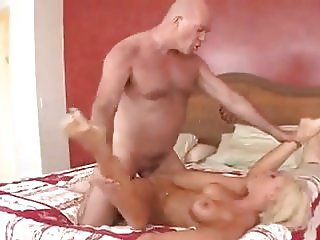 Mature stepfather knows how to fuck