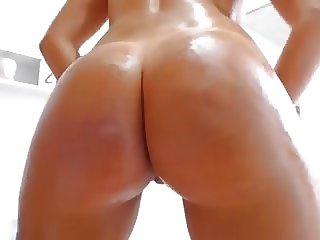 Super hot babe big ass butt big tits boobs nipples