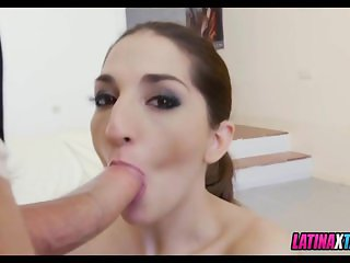 Loving that Cock down Her Throat
