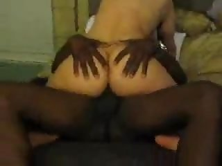 White wife rides and takes BBC Load