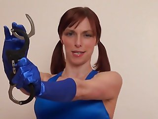 Handcuff fetish with mistress
