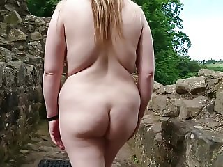 my wife naked walk at hales castle