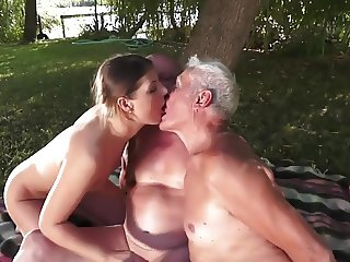 My Oldest Fuck -2 ,cut 2 (#grandpa #old man #dad)