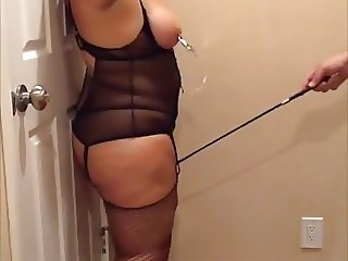 BBW enjoying some BDSM play