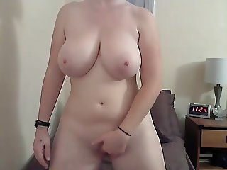 #4 pale busty big tit cam girl.