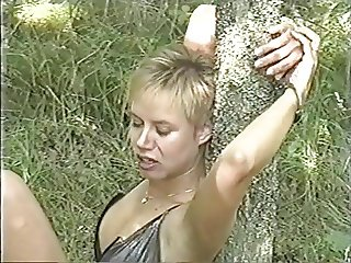 Vintage Amateur Bondage (beautiful girl and hairy fuck)