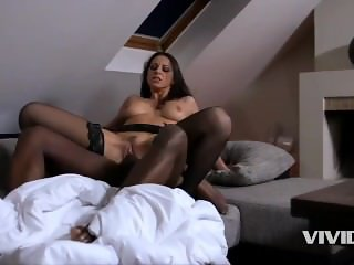 French MILF devours a BBC for breakfast