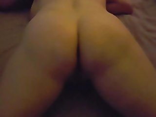 Anal fucking finishing with creampie