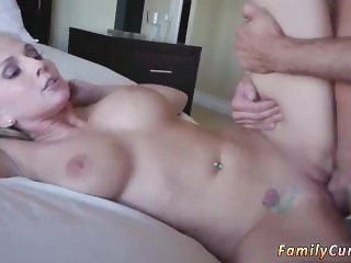 Family orgy hd hot father fucks compeer's