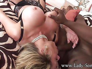 Lady Sonia - Rough fucking by 11 inches BBC intruder