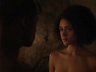 Nathalie Emmanuel nude Game of Thrones s07e02