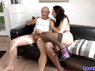 Insatiable brit mature railed doggystyle